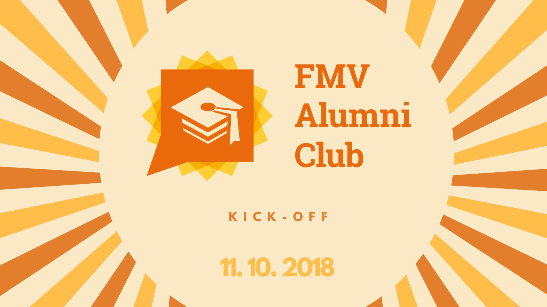 1. neformální setkání FMV Alumni Clubu je tady!