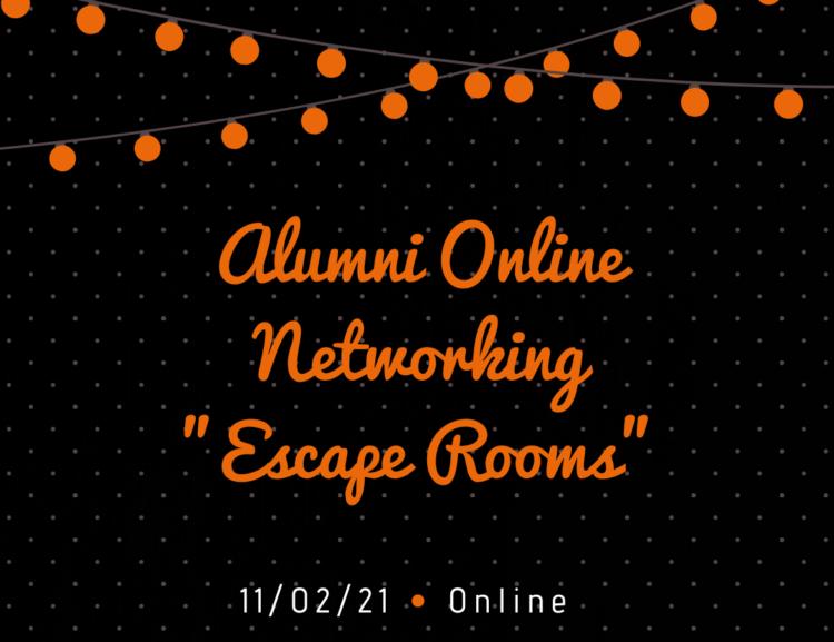 "FMV Alumni Online Networking ""Escape Rooms"" /11.2./"