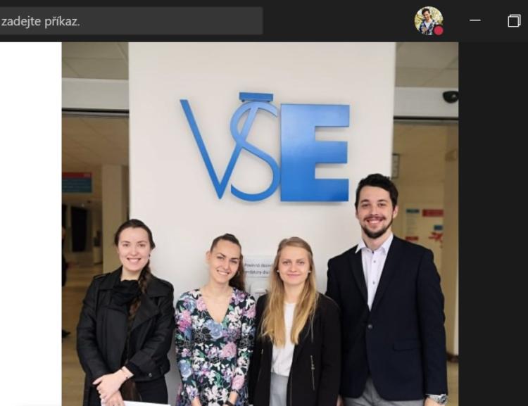 Studenti vedlejší specializace Mezinárodní finance a byznys připravili business projekt pro společnost E.ON