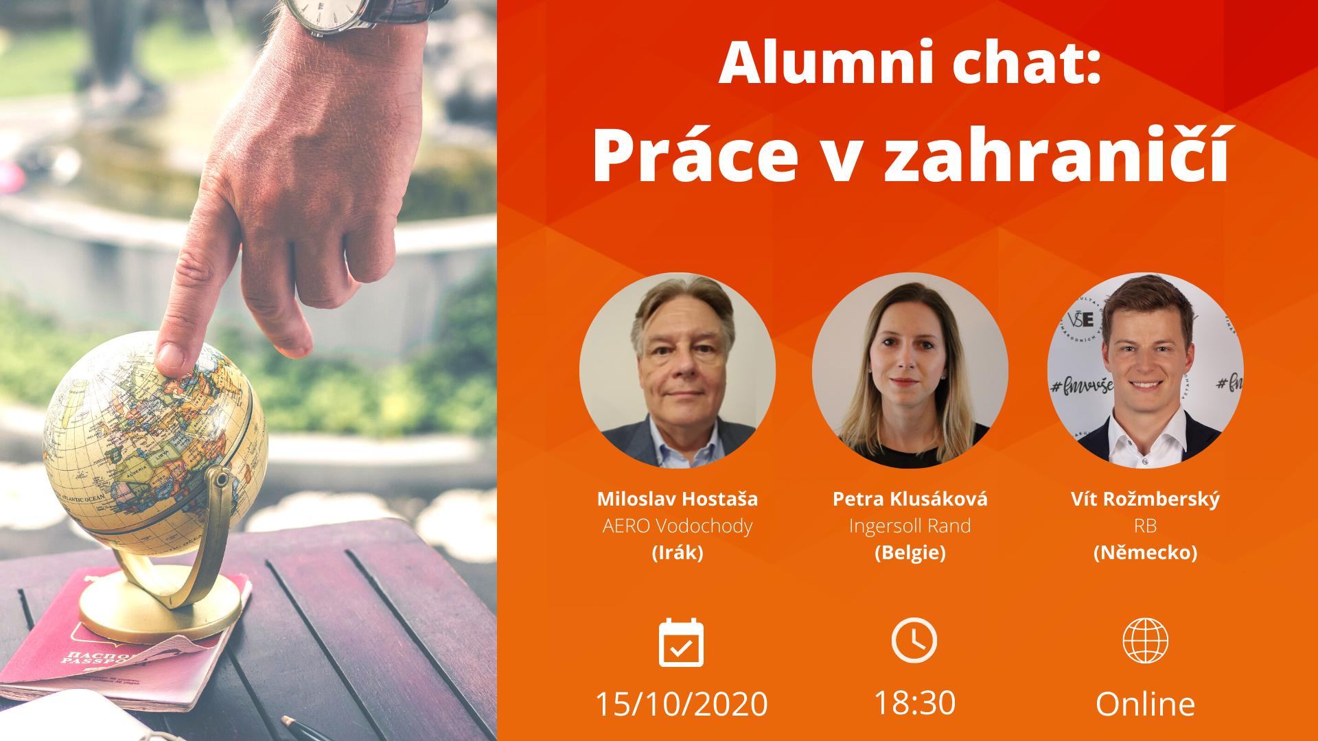 FMV Alumni chat: Práce v zahraničí /15.10./