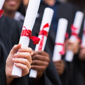 Promoce absolventů magisterského studia