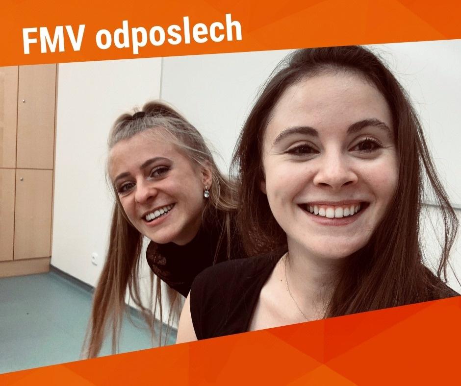 """Nahlédněte pod pokličku fakulty v nových dílech podcastu """"FMV odposlech""""!"""