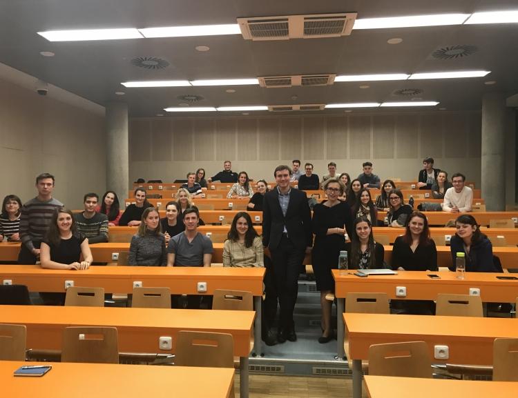 Proběhlo neformální setkání studentů oboru Mezinárodní obchod s garantem oboru
