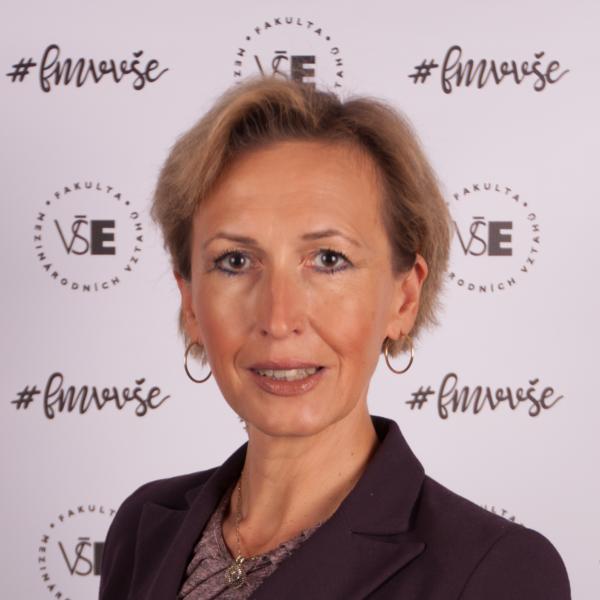 doc. Martina Jiránková, vedoucí Katedry mezinárodních ekonomických vztahů