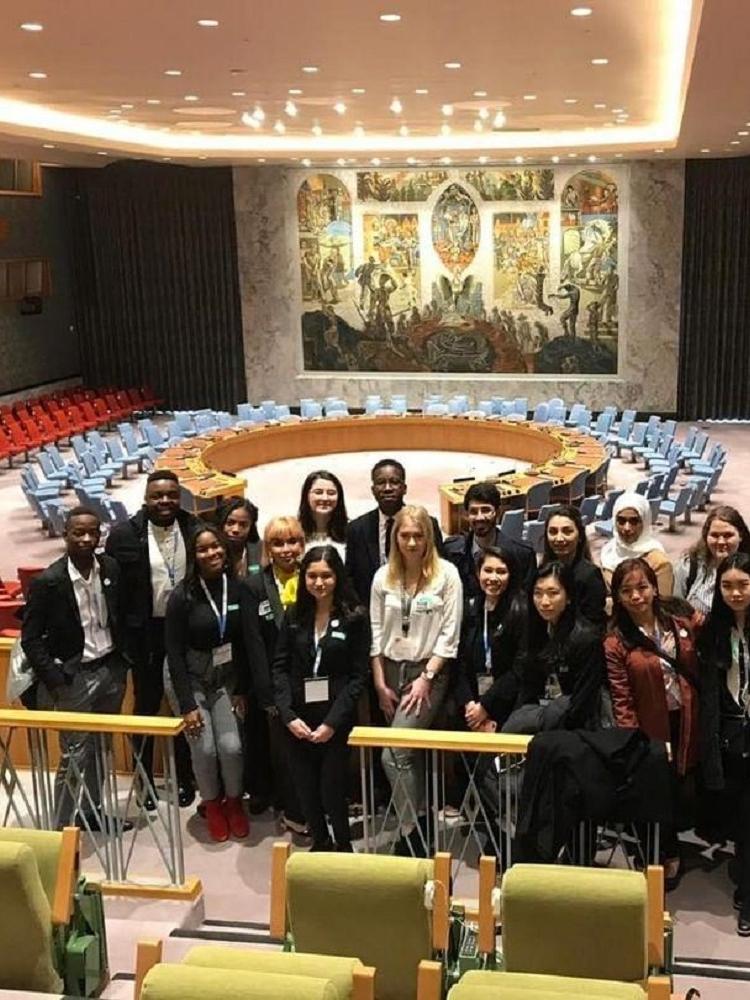 Student IDS se zúčastnil 23. ročníku Youth Assembly v New Yorku
