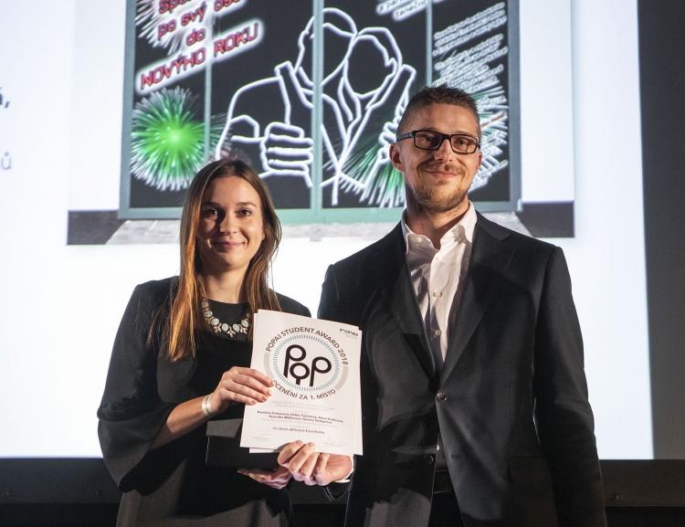 Studenti z FMV opět ovládli soutěž  POPAI STUDENT AWARD 2018