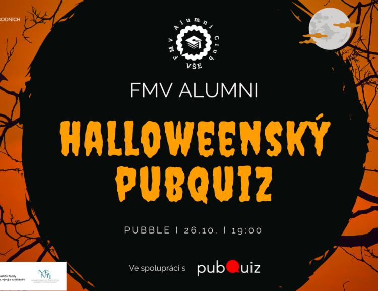 FMV Alumni Club vás zve na Halloweenský PubQuiz! /26.10./