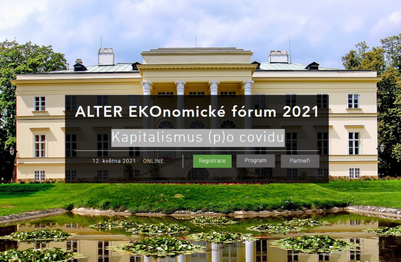 FMV je partnerem ALTER EKOnomického fóra 2021 /12.5./