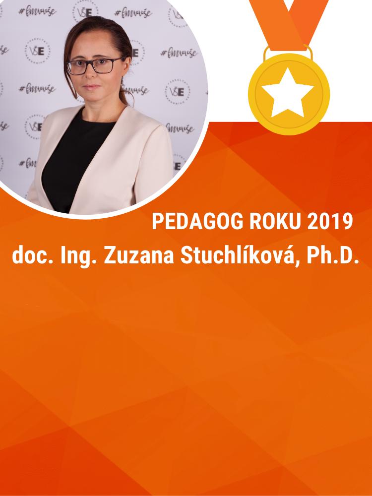 doc. Zuzana Stuchlíková získala za FMV ocenění Pedagog roku