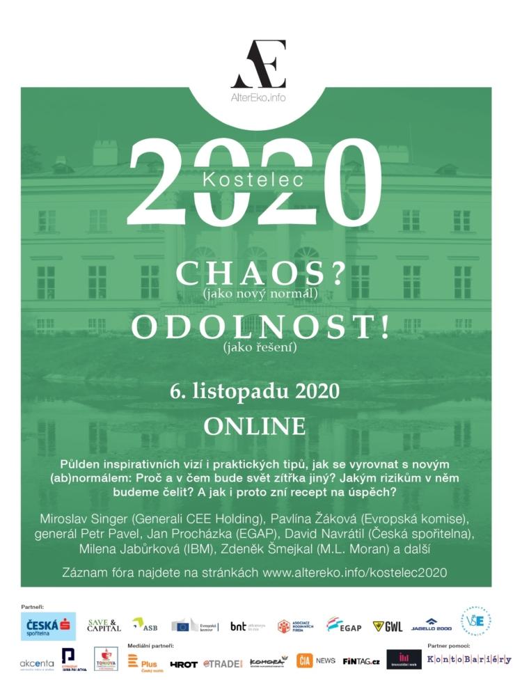 """Proběhl třetí ročník """"českého Davosu"""", konference Kostelec 2020. FMV byla partnerem."""
