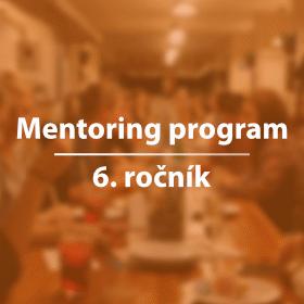 Šestý ročník Mentoring programu je tady!