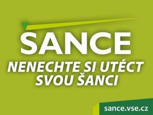 Zveme Vás na veletrh pracovních příležitostí ŠANCE /16.-18.10./
