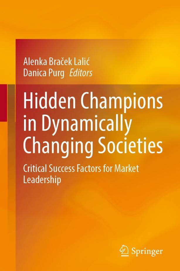 Odborníci z KMEV publikovali kapitolu v knize Hidden Champions in Dynamically Changing Societies